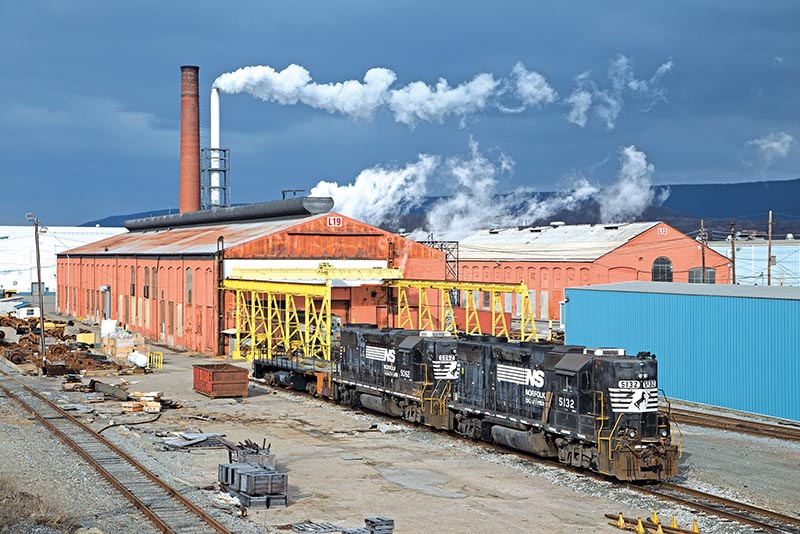 Railfanning in the Shadow of the Pennsy